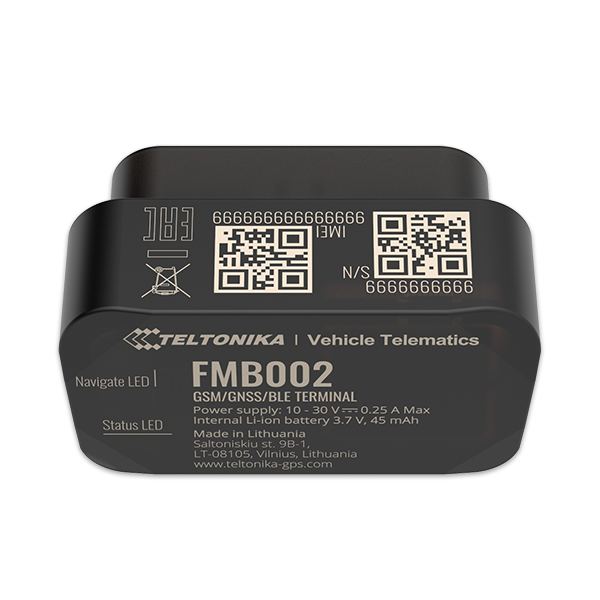 Lokalizator gps OBD FMB002