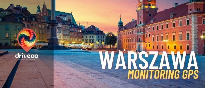 Monitoring gps Warszawa